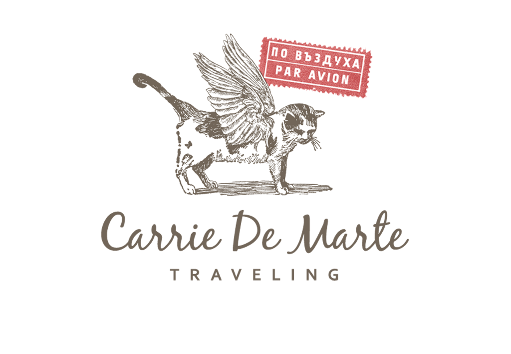 Whimsical, retro mark for NYC travel consultant.